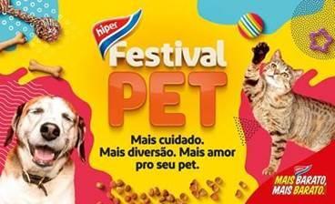 Festival Pet: Extra oferece as melhores ofertas para garantir o bem-estar dos animais de estimação