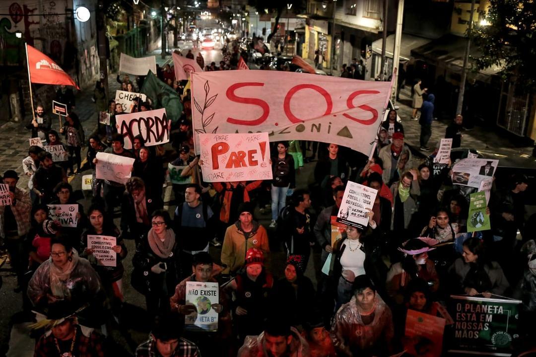 Mobilização mundial para alertar mudanças climáticas acontece em cidades brasileiras nesta sexta-feira