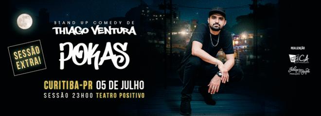 """Stand Up Comedy de Thiago Ventura – """"POKAS"""""""