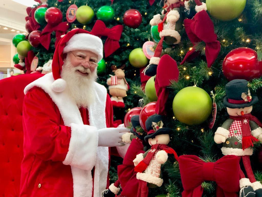 Papai Noel chega neste domingo (10/11) no Londrina Norte Shopping
