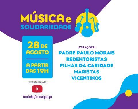Música e solidariedade: live arrecada fundos famílias afetadas pela pandemia em Curitiba e na Amazônia