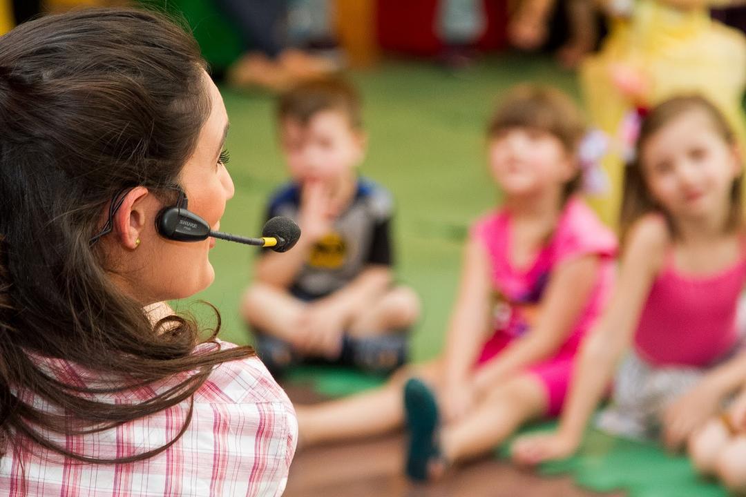Música embala a programação infantil do Shopping Estação