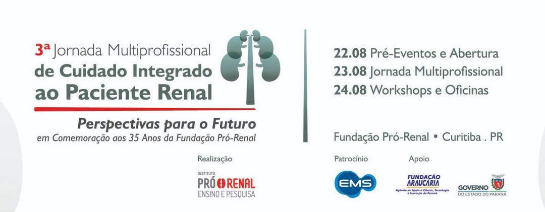 Fundação Pró-Renal promove 3ª jornada de cuidado ao paciente renal