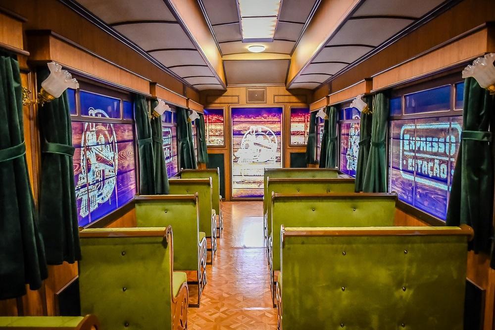 Curitiba tem o único museu ferroviário do Brasil instalado dentro de um shopping