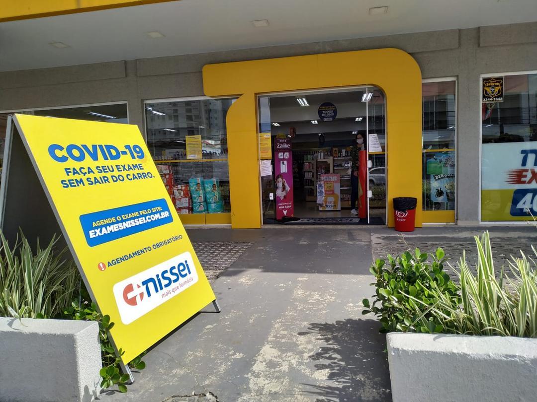 Nissei já oferta testes de Covid-19 em sete farmácias em Curitiba