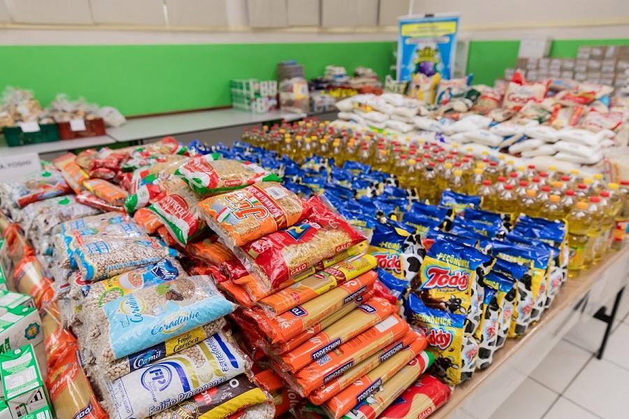 Instituto A.Yoshii arrecada mais de 4 toneladas de alimentos