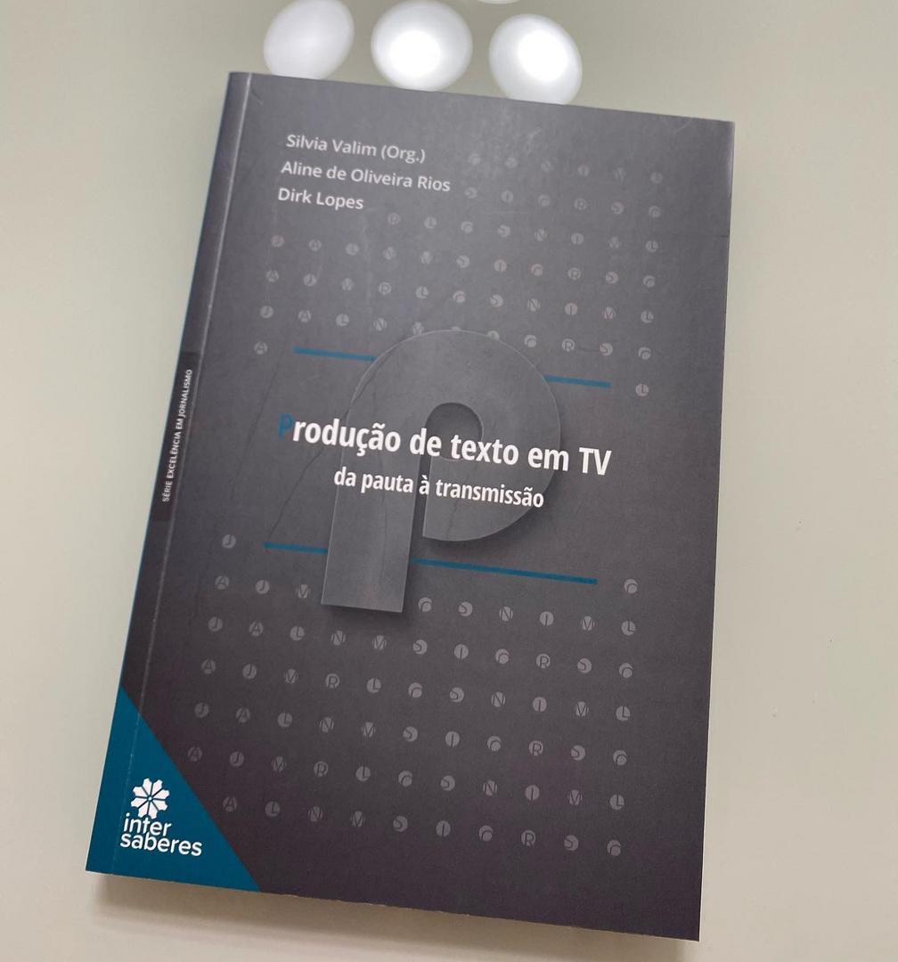 Da pauta à transmissão: livro resgata a importância da produção de texto em TV