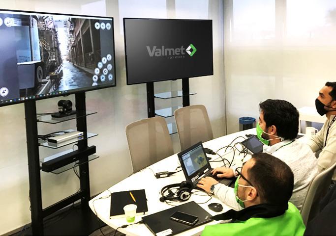 Valmet realiza primeiro levantamento de campo virtual