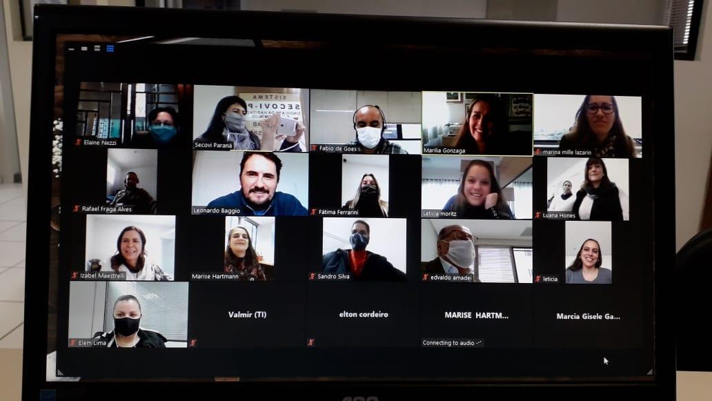 Secovi-PR realiza primeira edição de pregão online do Comitê de Locação