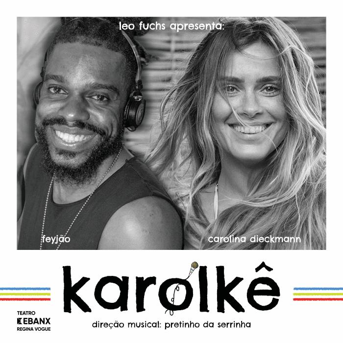 Carolina Dieckmann apresenta Karolkê, seu novo projeto, em Curitiba