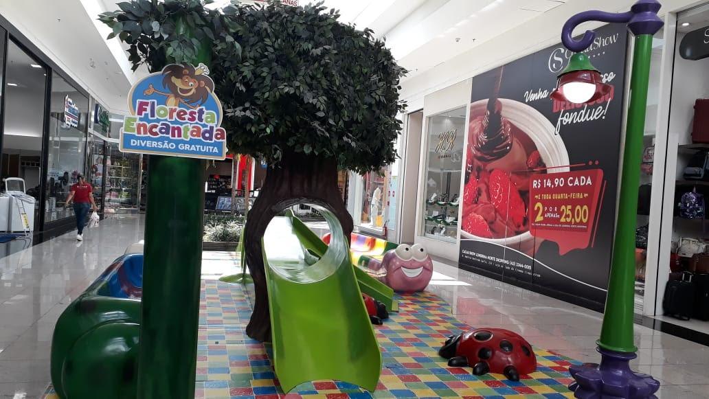 Dez atrações infantis no Londrina Norte Shopping para curtir no feriado do aniversário da cidade