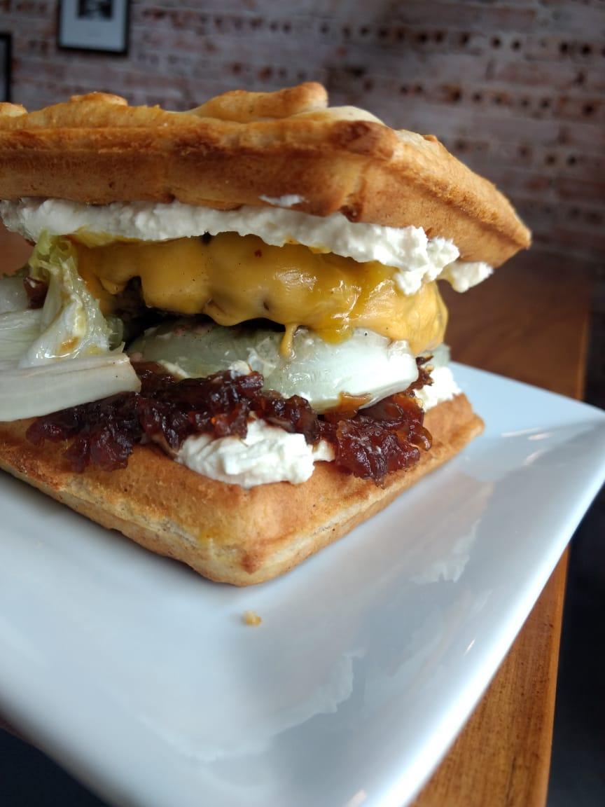 Lançamento: agora tem Waffle Burger no Chelsea