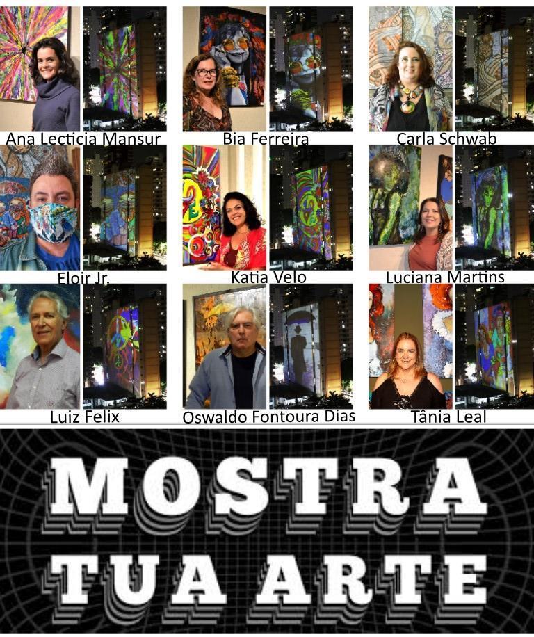 Arte Curitibana marca presença em projeções nos prédios de Belém do Pará