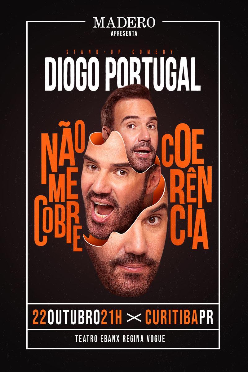 Para rir: Diogo Portugal e Emerson Ceará se apresentam em Curitiba