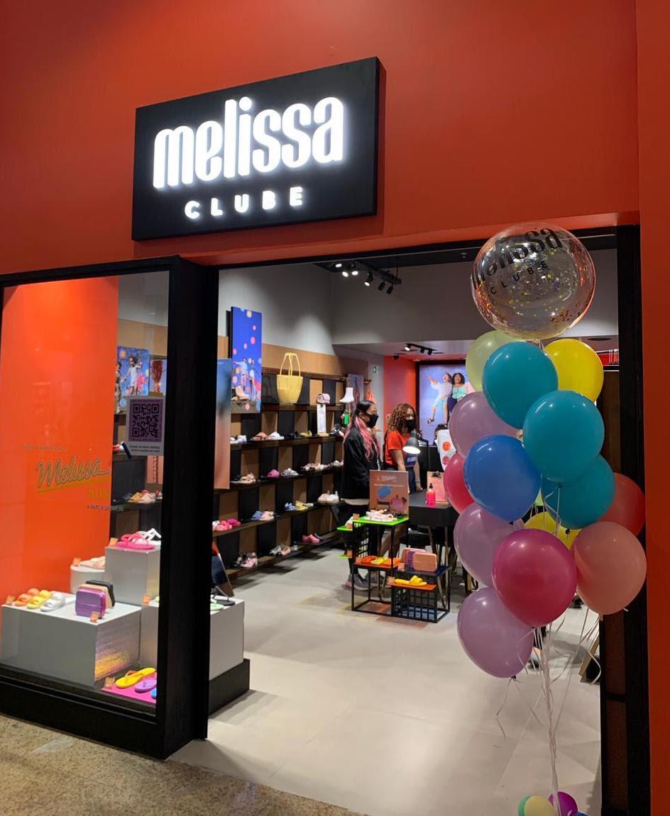Clube Melissa do Shopping Estação está de cara nova