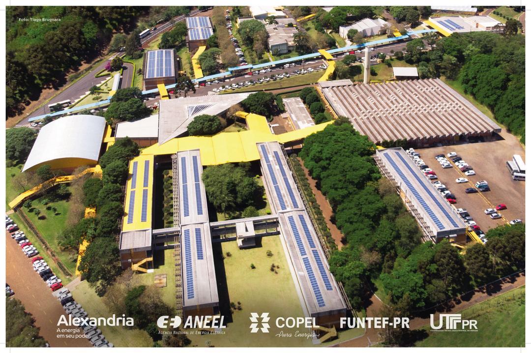 Alexandria entrega mais uma usina solar em universidade pública no PR