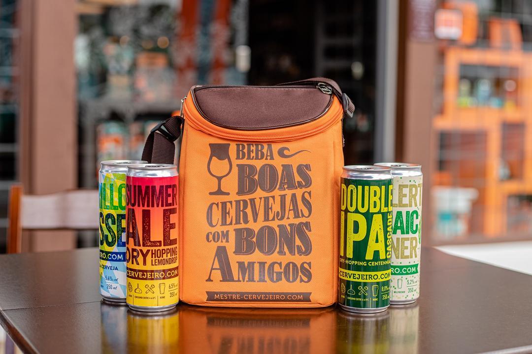 Mestre-Cervejeiro.com lança bolsa térmica para o Carnaval 2020