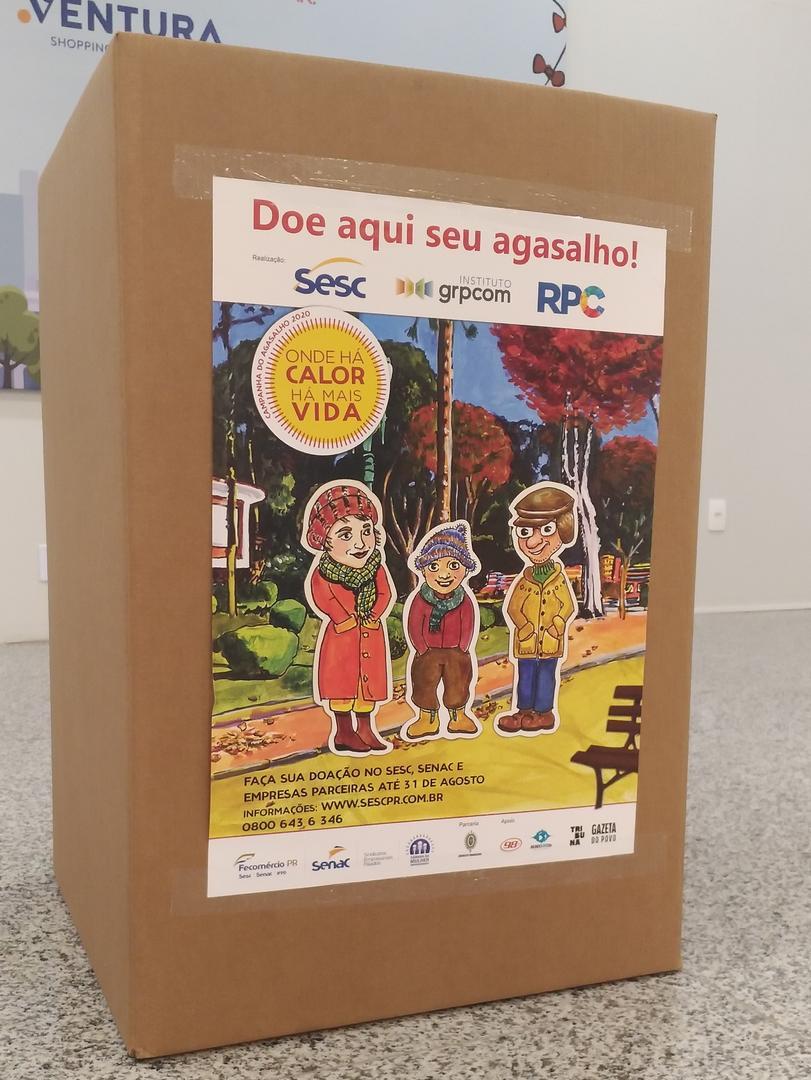 Ventura Shopping apoia campanha do agasalho do Sesc Paraná
