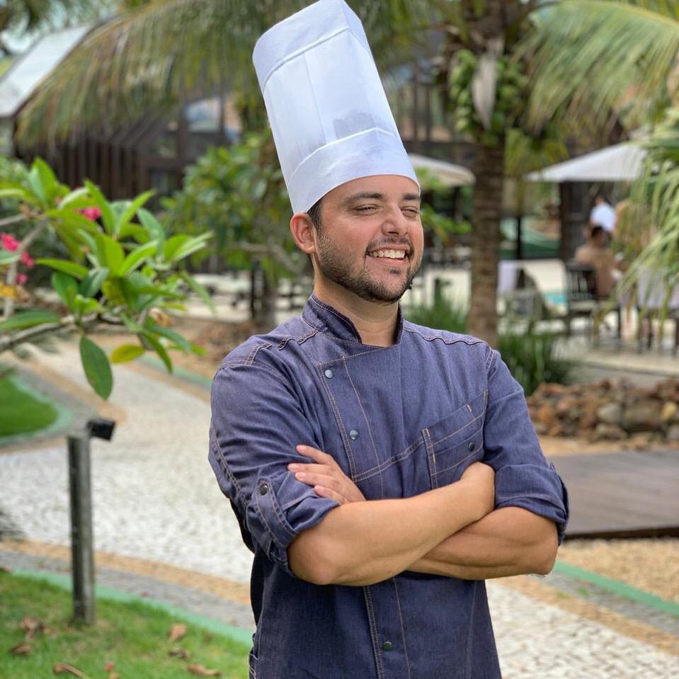 Henrique Naldony é o novo chef de cozinha da Pousada Estaleiro Guest House