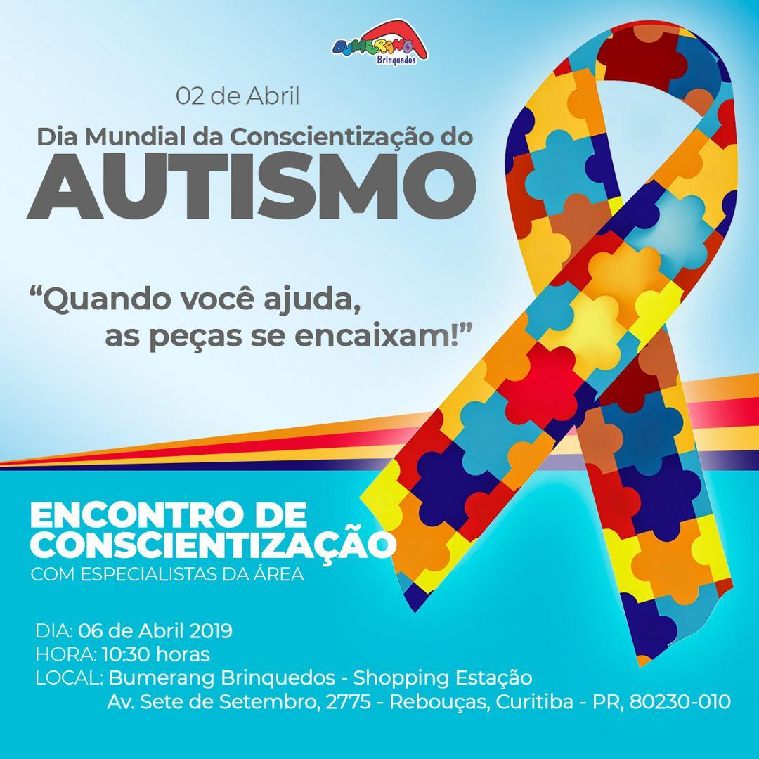 Bate-papo em prol do Dia Mundial da Conscientização do Autismo