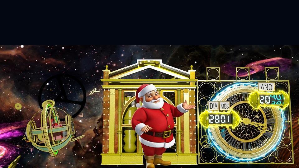 Ecofábrica do Papai Noel leva mensagens de amor e sustentabilidade, com linguagem lúdica, neste Natal