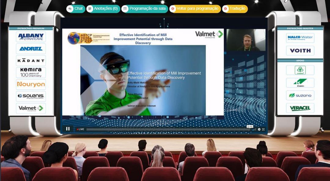 Com 5 palestras e 13 artigos técnicos, Valmet é destaque do 53º Congresso Internacional de Celulose e Papel