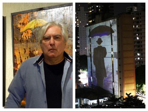 Artista e designer, Oswaldo Fontoura Dias, tem obras projetadas nos prédios em Belém do Pará