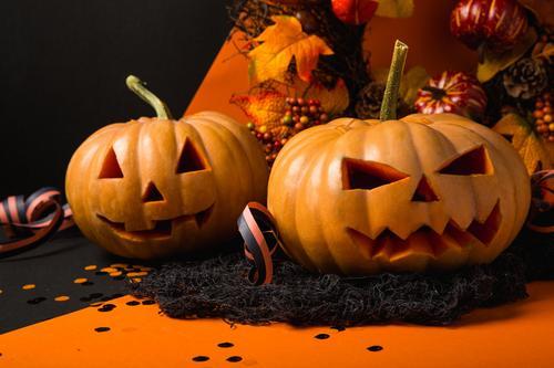Halloween com decoração e café da manhã temático no Grand Hotel Rayon
