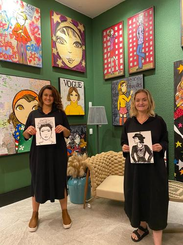 Collab de Adri Volpi e Claire Juliani será lançada no Plaza Boulevard Itapema