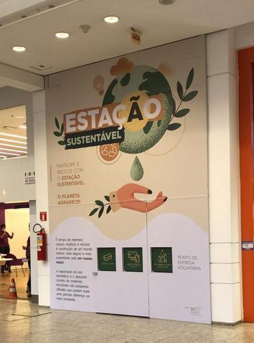 Shopping de Curitiba lança ponto de coleta de resíduos e auxilia na economia circular