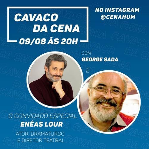 Fátima Ortiz e Enéas Lour participam do Cavaco da Cena Hum