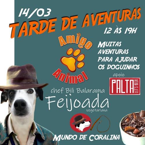 Mundo de Coralina promove Tarde de Aventuras em prol da ONG Amigo Animal