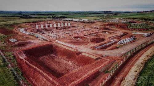 Sistema de Transmissão Gralha Azul inicia obras de montagem da Subestação Guarapuava