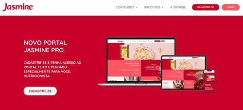 Jasmine Alimentos lança portal para nutricionistas e profissionais da saúde aperfeiçoarem atendimentos