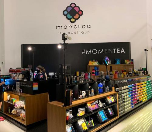 Moncloa Tea Boutique investe em loja com espaço para degustação no Shopping Curitiba