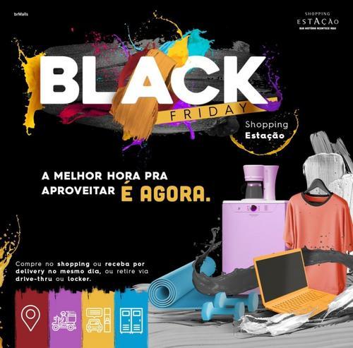 Shopping Estação tem vitrine virtual com descontos de Black Friday