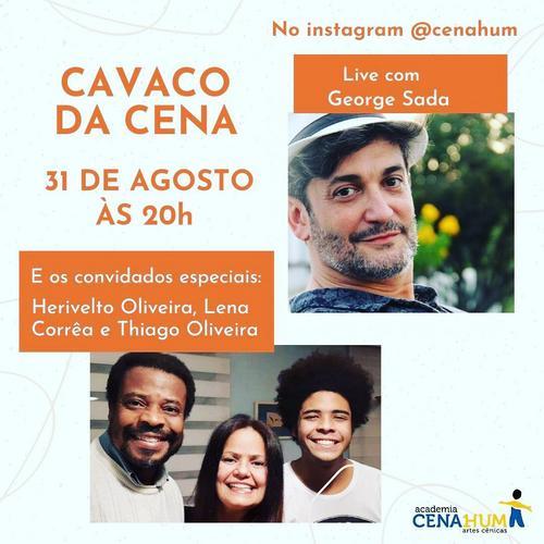 """Herivelto Oliveira, Lena Corrêa e Thiago Oliveira participam do """"Cavaco da Cena"""""""