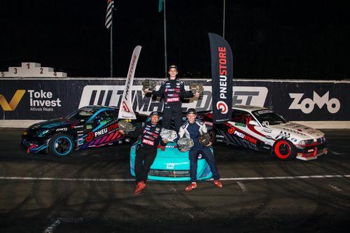Márcio Kabeça e o filho Juninho voltam com títulos do Ultimate Drift