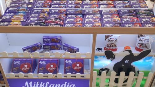 Milklandia, franquia exclusiva de chocolates importados, chega ao Catuaí Shopping Londrina