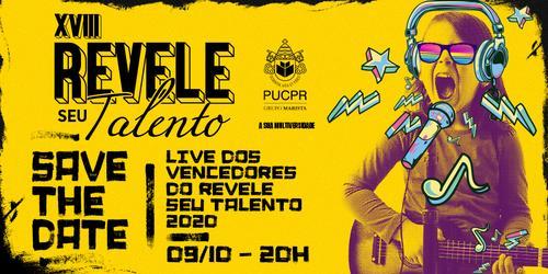 PUCPR promove live musical com Alexandre Nero
