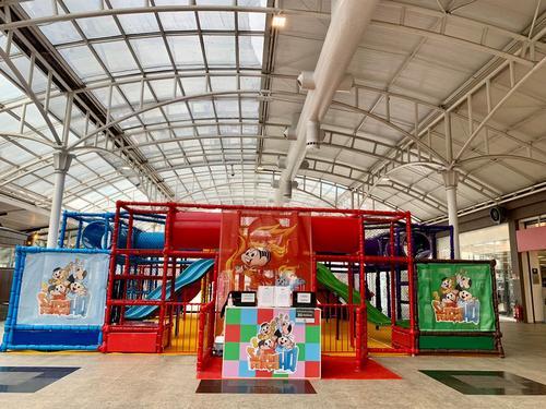 Feriado com 6 atrações infantis no mesmo local e descontos nas compras de brinquedos