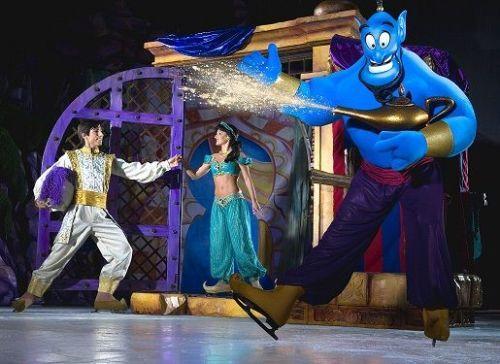 Aquecimento no gelo - Disney On Ice Em Busca dos Sonhos