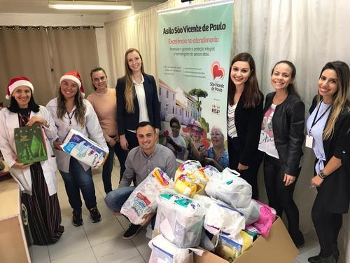 Fazer o bem: MDGP entrega doações no Asilo São Vicente de Paulo