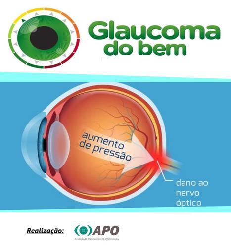 Oftalmologistas realizam campanha de combate ao glaucoma em shopping de Curitiba