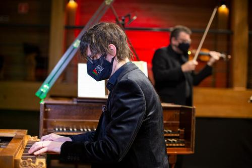 Mia Cara apresenta Recital Barroco de Violino e Cravo
