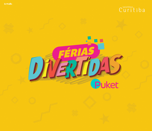 Programação de férias do Shopping Curitiba