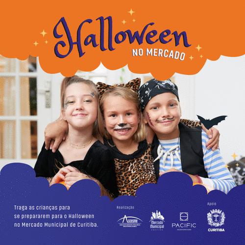 Prepare-se para o Halloween no Mercado Municipal de Curitiba