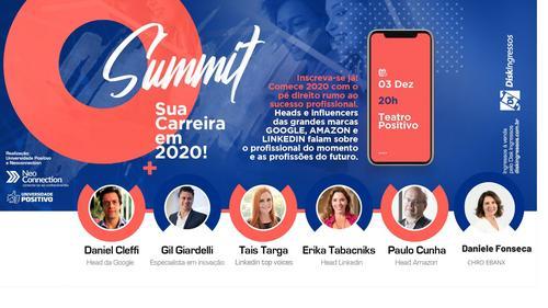 Summit Sua Carreira em 2020 antecipa tendências de mercado para o próximo ano