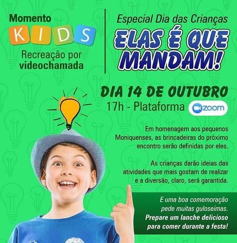 Dia Das Crianças do Santa Mônica será comemorado com encontro virtual
