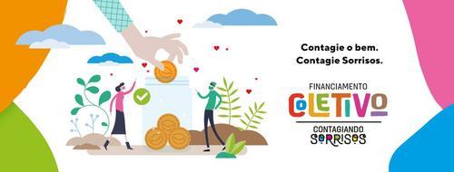 Projeto Contagiando Sorrisos lança campanha de financiamento coletivo